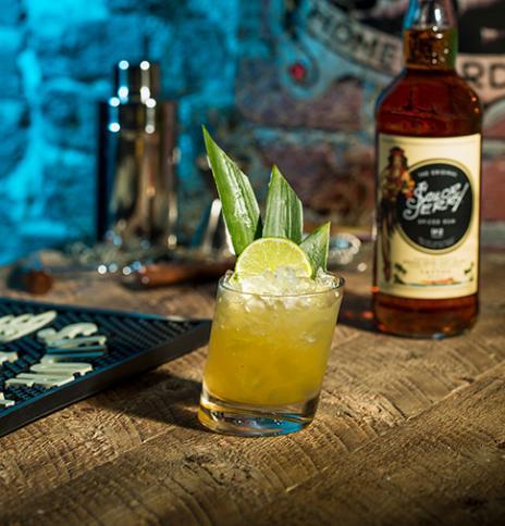 Pineapple Daiquiri Rum Cocktail Recipes Sailor Jerry