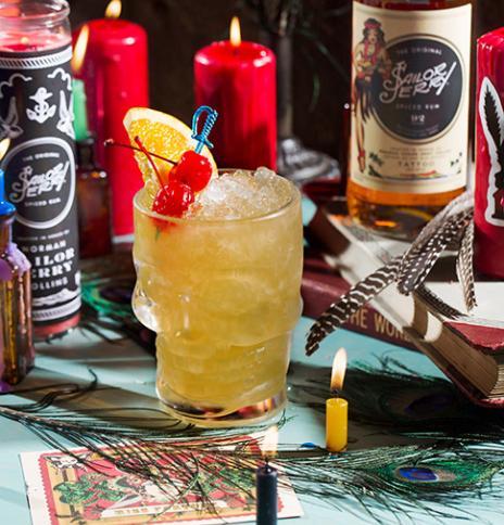 Hurricane Cocktail Rum Cocktail Recipes Sailor Jerry
