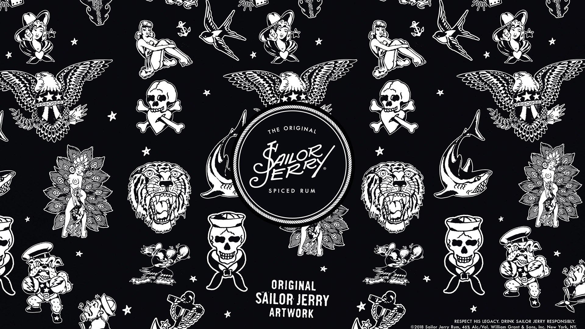 Get Your Free Tattoo Design Wallpapers Sailor Jerry