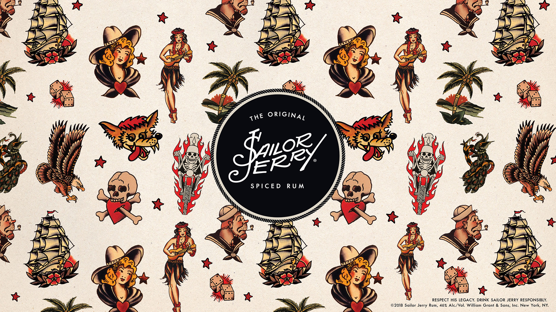 4ed790af97af0 Get Your Free Tattoo Design Wallpapers | Sailor Jerry