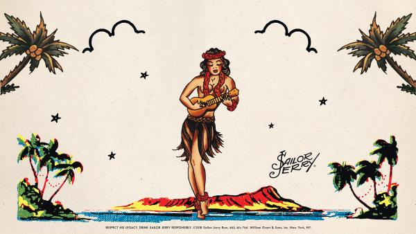 SailorJerry Wallpapers HULA US Laptop