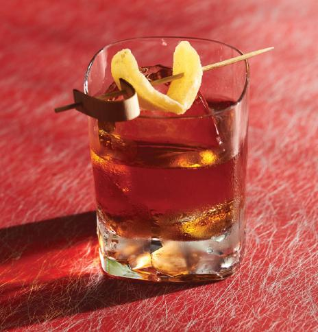 Ginger Spiced Rum Old Fashioned - Sailor Jerry