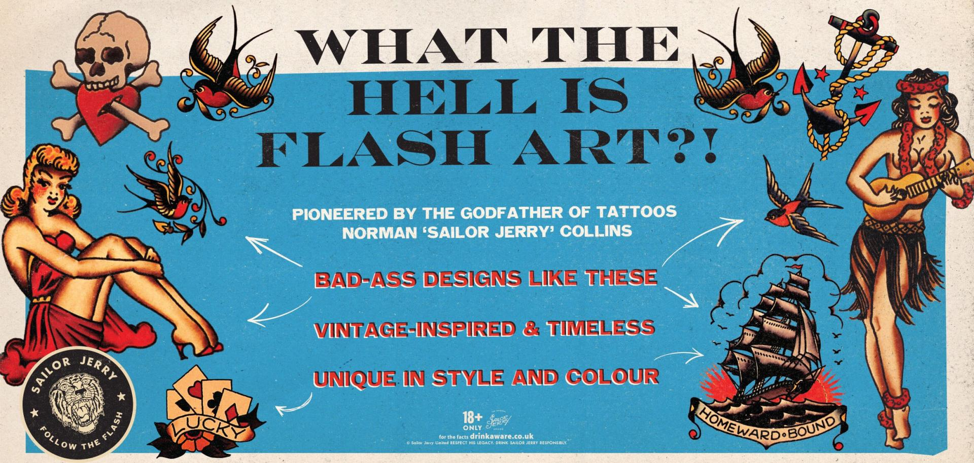 Follow The Flash In Scotland Gigs Events Hosted By Sailor Jerry