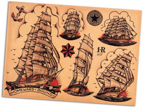 norman collins timeline biography sailor jerry