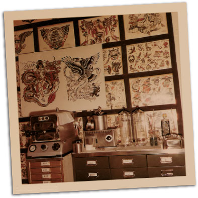 Norman collins timeline biography sailor jerry for Tattoo shops in norman